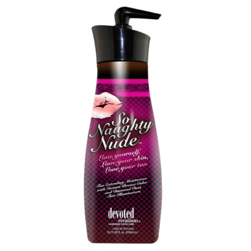 Devoted Creations So Naughty Nude Tan Extending Moisturizers