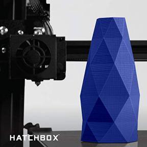 HATCHBOX-PLA-3D-Printer-Filament-Dimensional-Accuracy-003-mm-1-kg-Spool-175-mm-Blue-Model-Number-3D-PLA-1KG175-BLU