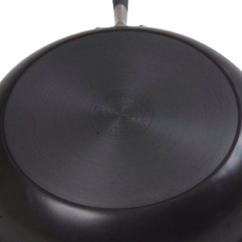 Anolon Advanced Hard-Anodized Nonstick 5-Quart Covered Sauté with Helper Handle, Gray - 81887