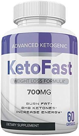 Advanced Ketogenic Ketofast 700mg Diet Pills - Keto Fast Advanced Ketogenic 700mg Pills for Weight Loss (60 Capsules, 1 Month Supply) 3