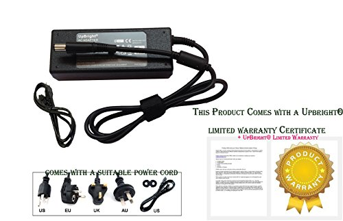 AC Adapter Power Charger and US Cord for HP Elitebook 8440p 8440w 8460p 8460w 8560p XU057UT
