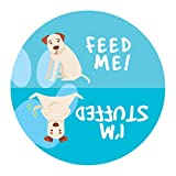 Declare Gifts Hungry Dog Refrigerator Magnet - Feed The Dog Indicator/Reminder Magnet