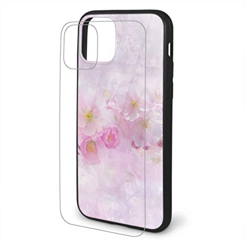 VNASKL Cherry Blossom Cherry Tree Nature Flower Plant Phone Cover For iPhone 11 Screen Protector...
