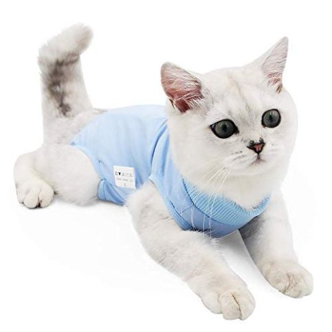 Misyue-Cat-Professional-Recovery-Suit-for-Abdominal-Wounds-or-Skin-Diseases-E-Collar-Alternative-for-Cats-and-Dogs-After-Surgery-Wear