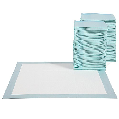 Paws & Pals Pet Training Potty Pads for Dogs and Cats – 30, 100, and 150 Count (100 Count)
