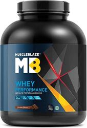 MuscleBlaze Whey Performance Protein, 8.8 lb Chocolate