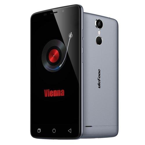 Ulefone Vienna 5.5 Inch Android 5.1 Smartphone, MTK6753 Octa Core 1.3GHZ, 3GB RAM + 32GB ROM GSM & WCDMA & FDD-LTE (Grey)