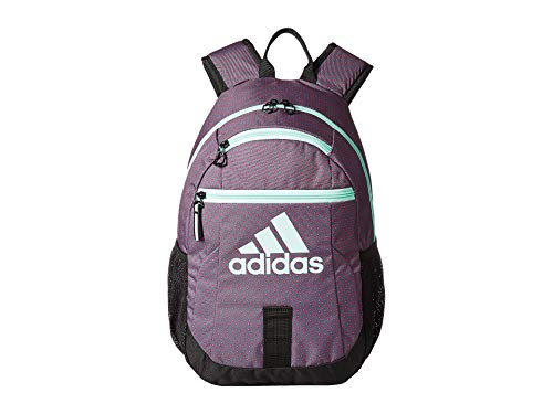 adidas Unisex Creator Backpack (Little Kids/Big Kids) Shock Pink Dot/Clear Mint/Black One Size