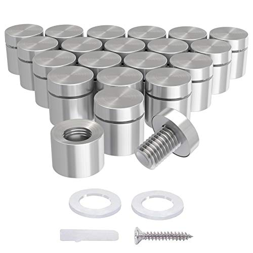 LuckIn-20-Pack-34-x-34-Inch-Stainless-Steel-Standoff-Screws-Mounting-Glass-Hardware-Sign-for-Hanging-Acrylic-Picture-Frame