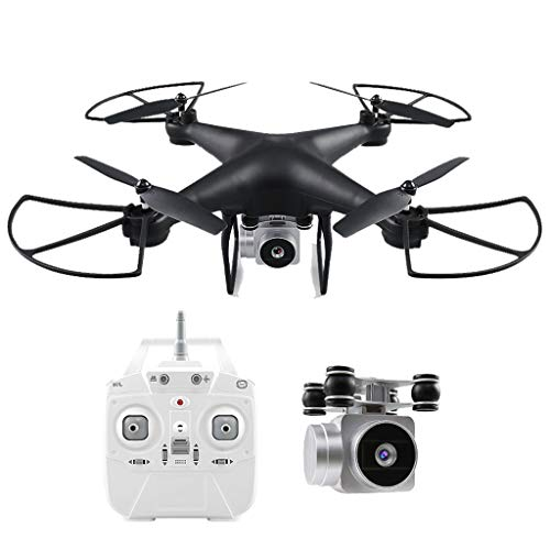 WLPT FPV Drone, JJRC H69 Remote Control Drone with 720P HD Camera Live Video FPV Quadcopter for Beginners with Headless Mode Altitude Hold 30 Mins Flight Time,Black
