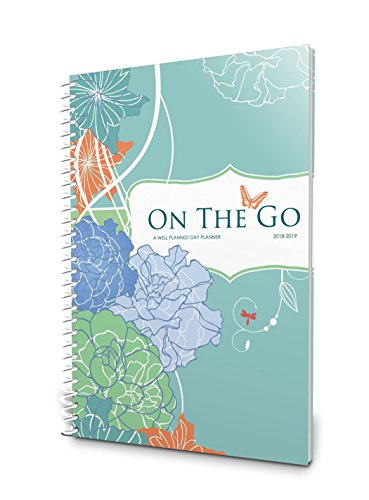 Well Planned Day, On the Go Planner, July 2018 - June 2019