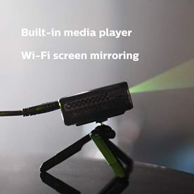 Philips-PicoPix-Micro-Projector-LED-DLP-1h30-Battery-Life-Wi-Fi-Screen-Mirroring