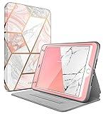 iPad Mini 5 Case 2019, iPad Mini 4 Case, [Built-in Screen Protector] i-Blason [Cosmo] Full-Body Folding Stand Protective Case Cover with Auto Sleep/Wake for Apple iPad Mini 5 7.9 inch 2019 (Marble)