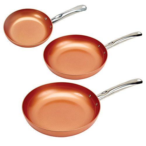 Copper Chef Round Pan 3 Pack 8/10/12'