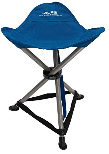 ALPS Mountaineering Tri-Leg Stool, Deep Sea, One Size