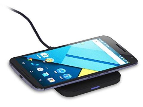 CHOETECH qi ワイヤレス充電器 10W/7.5W急速充電対応 超薄型 AirPods 2 、iPhone XS/XS Max/XR/X、Samsungシリーズ等その他Qi機種対応 ブラック