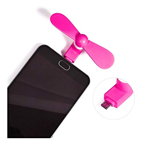 separate way Mini USB OTG Fan with Micro Pin for Tablet/Android Smartphones Set of 1 1