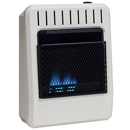 Avenger Dual Fuel Vent Free Blue Flame Wall Heater, Thermostat - 10,000 BTU, Model# FDT10BF