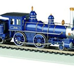 Bachmann Industries 4-4-0 American Steam DCC Sound Value Baltimore & Ohio with Coal Load Locomotive (HO Scale) 41i 2BrFpNuRL