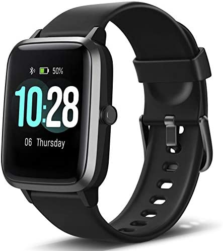 """Letsfit Smart Watch, Fitness Tracker with Heart Rate Monitor, Activity Tracker with 1.3"""" Touch Screen, IP68 Waterproof Pedometer Smartwatch with Sleep Monitor, Step Counter for Women and Men 3"""