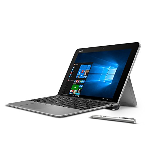 "ASUS 10.1"" Transformer Mini T102HA-D4-GR, 2in1 Touchscreen Laptop, Intel Quad-Core Atom, 4GB RAM, 128GB EMMC, Pen and Keyboard Included"