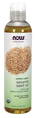 NOW Organic Sesame Seed Oil,8-Ounce