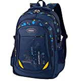 Boys School Backpack Cool School Bags Students Daypack Back to School Book Bag for Boys Girls Kids Children