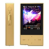 HIDIZS AP60 Ⅱ Hi-Res Digital Audio Player Hi-Fi Lossless MP3 Player with Bluetooth Portable High Resolution Music Player with SD Card Slot (Gold)