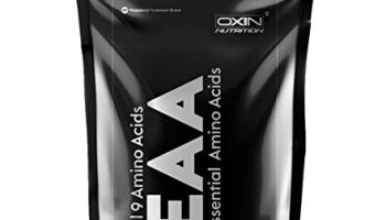 Oxin Nutrition EAA 400g (Essential Amino Acids) Intra-Workout/Post-Workout Advanced Formula (EAA+BCAA) (Watermelon Fest, 400g)