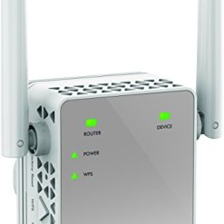 NETGEAR Wi-Fi Booster Range Extender EX3700 – Coverage Up-to 1000 sq ft and 15 Devices with AC750 Dual Band Wireless Signal Repeater (Up-to 750 Mbps) and Compact Wall Plug Design with UK Plug