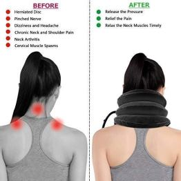 MADDELENA-Health-care-Cervical-Neck-Traction-Air-Bag-With-3-Layer-Inflatable-Pillow-For-Neck-Support-And-Relaxation