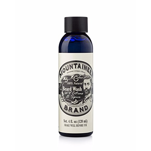 Mountaineer Brand All Natural Beard Wash: Made from Castille Soap