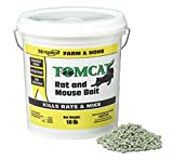 Motomco 008-32345 Tomcat Rat and Mouse Bait Pellet, 10 lb