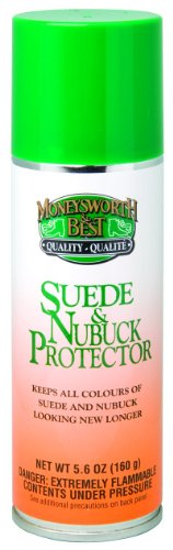 Moneysworth & Best Suede & Nubuck Protector, 5.6-Ounce