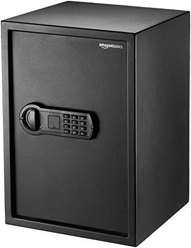 AmazonBasics Home Keypad Safe - 1.8 Cubic Feet, 13.8 x 13 x 19.7 Inches, Black