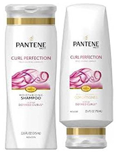 Pantene Pro-V Curl Perfection Moisturizing Shampoo and Conditioner Set