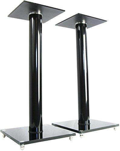 VIVO Premium Universal 23' Floor Speaker Stands for Surround Sound & Book Shelf Speakers (STAND-SP02B)