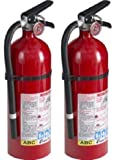 Kidde 21005779 Pro 210 Fire Extinguisher, ABC, 160CI, 4 lbs, 1 Pack (.2 Pack)