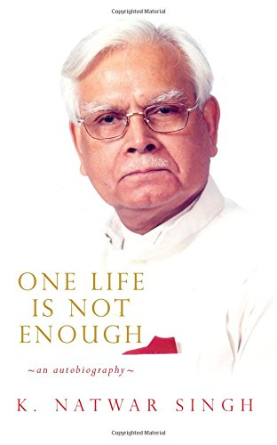 Buy One Life is not Enough: An Autobiography Book Online at Low Prices in  India   One Life is not Enough: An Autobiography Reviews & Ratings -  Amazon.in