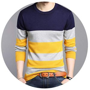 NanGate Knitted Solid Simply Pullover Men V Neck Long Sleeve Sweater Pull Homme S-XXL,25632,L