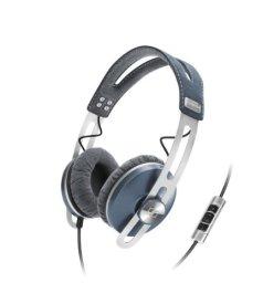 Sennheiser Momentum On-Ear Headphone with Smart Remote with Mic-Mini Blue