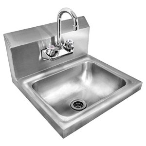 Giantex Stainless Steel Hand Wash Sink Wall Mount Commercial Kitchen