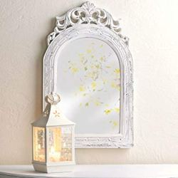 Arched-Top Wall Mirror 12.5×0.5×20″