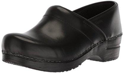 Sanita Women's Professional Cabrio Clog, Black, 37 EU/6.5 M US