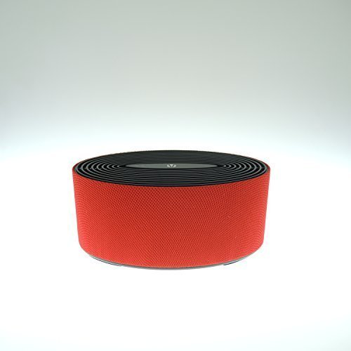 Vivitar Oval Fabric Bluetooth Speaker, Red