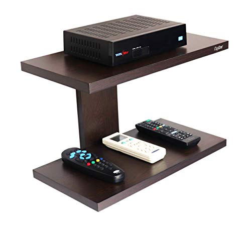 Captiver Wall Mounted Set Top Box Stand Wenge/Perfect Organizer Tv Entertainment Unit Stand 169