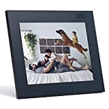 Aura Digital Photo Frame - 9.7' Display with 2048x1536 Resolution - Oprah's Best Things List 2016 - Facial Recognition - Charcoal Black Finish
