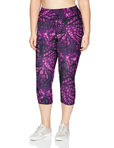 Just My Size Women's Plus Size Active Stretch Capri 1 🛒 Fashion Online Shop gifts for her gifts for him womens full figure