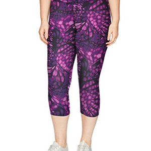 Just My Size Women's Plus Size Active Stretch Capri 9 Fashion Online Shop Gifts for her Gifts for him womens full figure