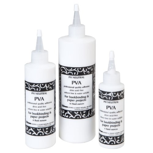 Books By Hand PH Neutral PVA Adhesive with spout - 4 ounce bottle